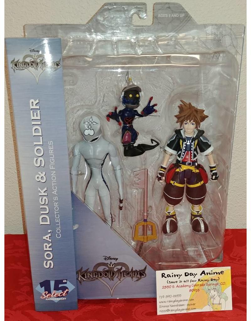 Kingdom Hearts Sora, Dusk and Soldier Figure Set 5832