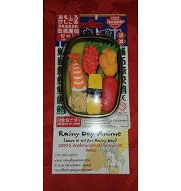 Eraser Set, Sushi Box 3429