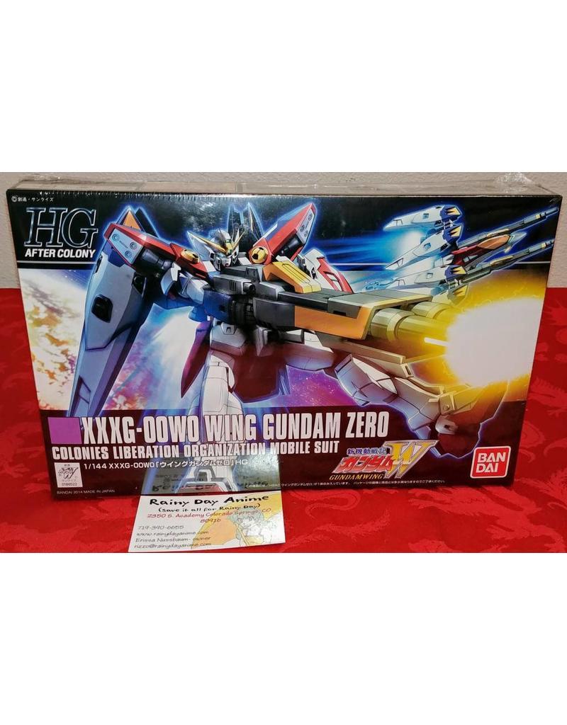 XXXG-00W0 Wing Gundam Zero HG Model Kit