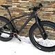 """LaMere Med Fat Bike Carbon Frame & Fork Size Med 18"""" with Rear Rack Mounts"""