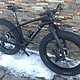 LaMere Med Snow Bike Carbon Rims Onyx Hubs & Lauf
