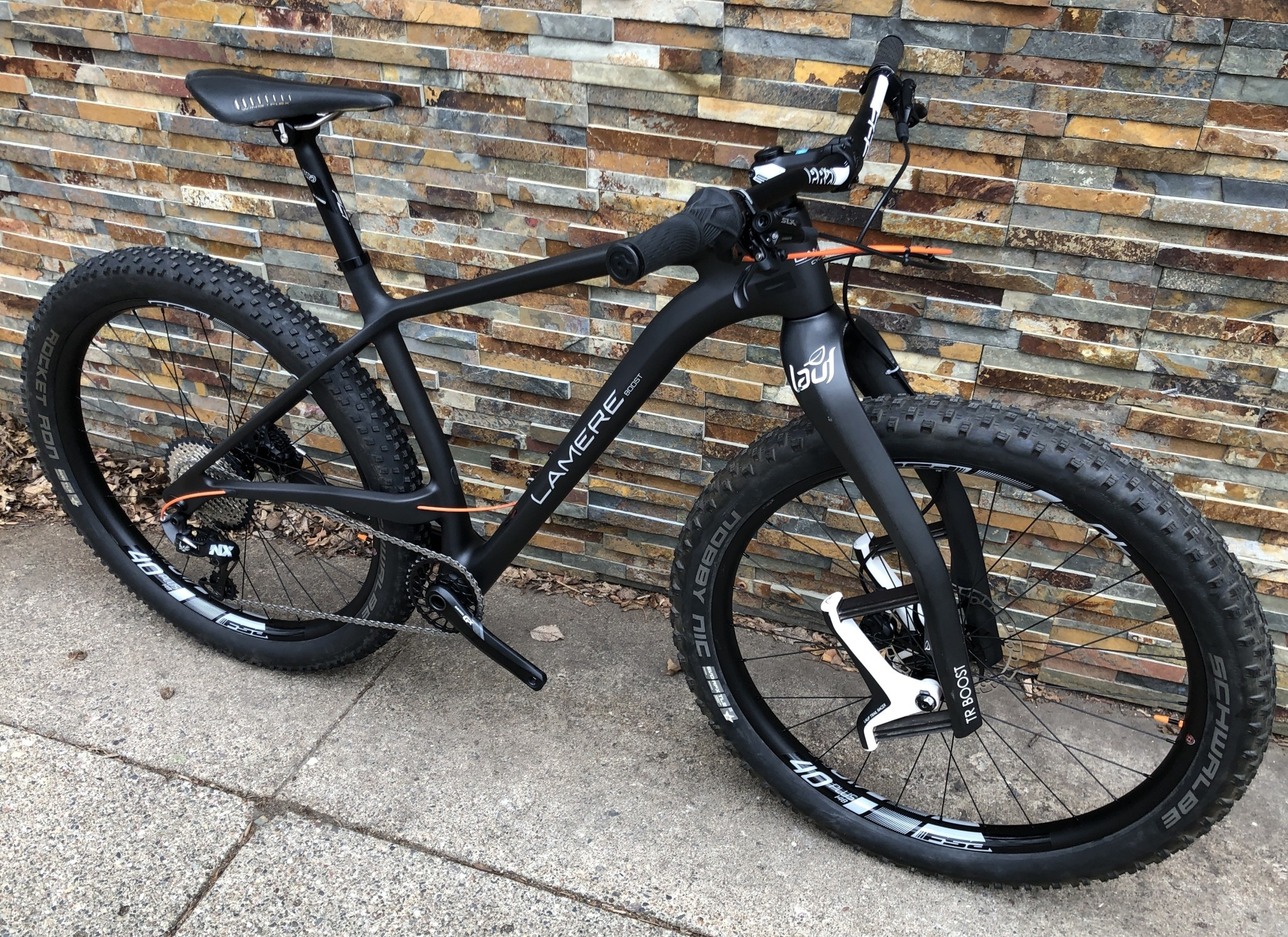 LaMere Size Large Boost Hardcore Hardtail with 27.5+ Alloy Wheels