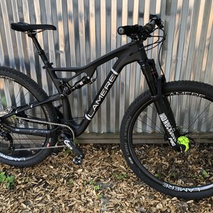 "LaMere Cycles 17.5"" Boost FS XC Burly Onyx Hubs and Pike"