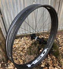HED HED Rear Wheel Big Fat Deal 26x100mm Carbon Rear 32 spoke Disk Brake 12mm Thru axle R197mm Hub Shim