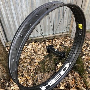 HED HED Big Half Deal 27.5x85mm Carbon Front 32 spoke Disk Brake 15mm Thru axle F150mm Hub