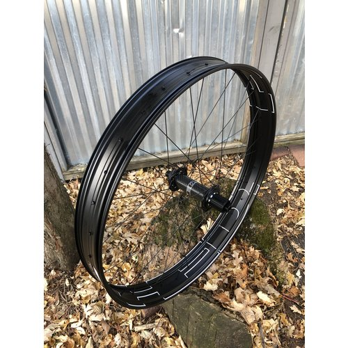HED HED Big Alloy Half Deal 27.5x80mm Rear 32 spoke Disk Brake 12mm Thru axle R197mm Hub Shim