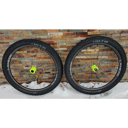 LaMere Cycles Boost Carbon 29+ Wheelset Onyx Hubs