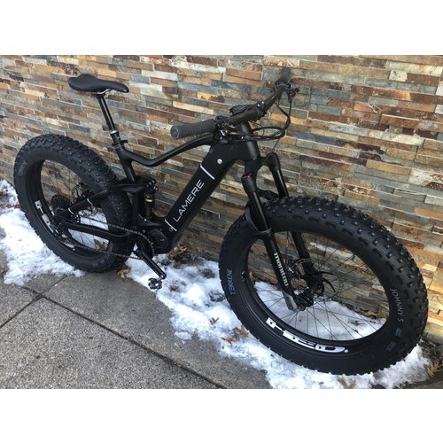 "LaMere Cycles LaMere eSummit Factory Build 26"" HED BFD Wheels Manitou Mastodon Fork"