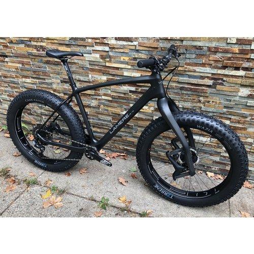 "21"" XL Fat 177 Travis Carbon Fat Bike alloy HED 26"" Wheels"