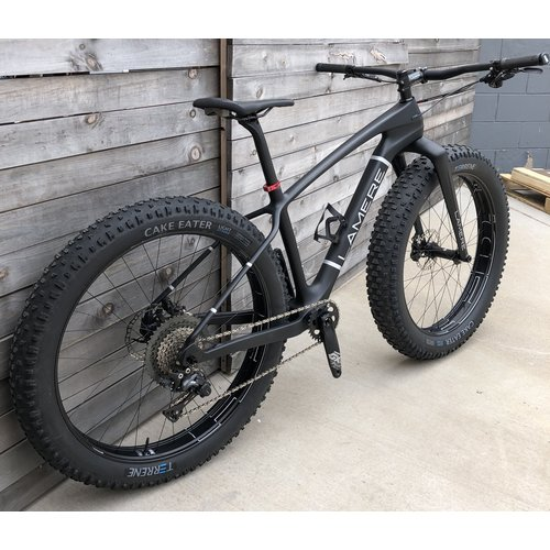 "LaMere Cycles 17.5"" Med Carbon V2 Fat with alloy HED 27.5 Wheels"