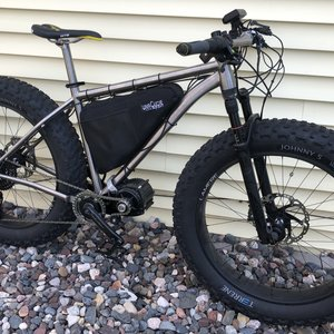 Ultimate Trail Groomer eFat Bike Ti