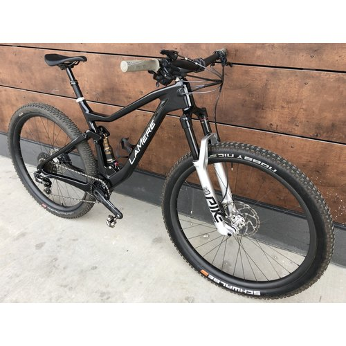 "LaMere Cycles 19"" XC Full Sus Carbon Race Bike Demo"
