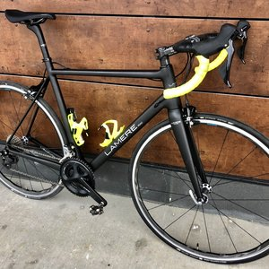LaMere Cycles Carbon Road Bike Demo, 56cm