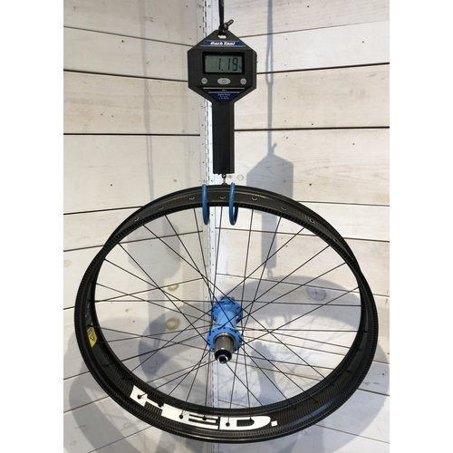 HED HED Big Deal Carbon Fat Wheelset w/ Blue Onyx Hubs