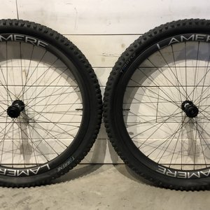 LaMere Cycles LaMere Fat Summer Wheelset, DTSwiss Big Ride Hubs