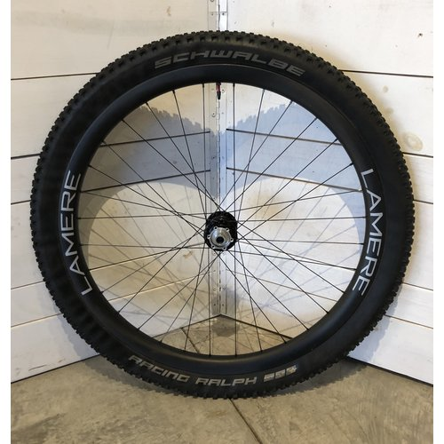LaMere Cycles LaMere Summer Fat Carbon front wheel, Onyx hub, 15x110