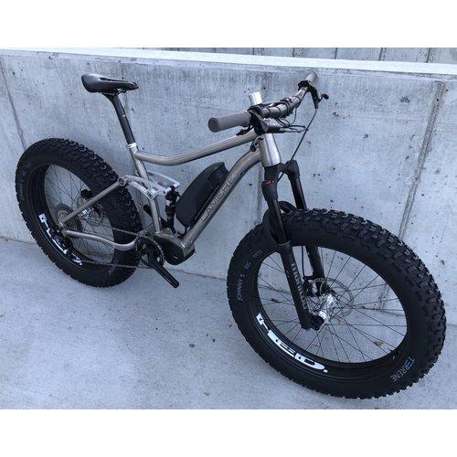LaMere Cycles LaMere Ti eSummit, Full Suspension Fat E-Bike, Size Medium