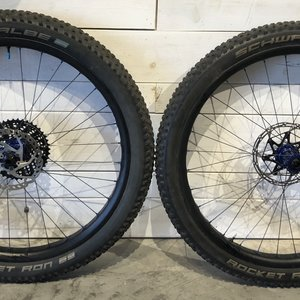 "Carbon Wheelset 27.5""x50mm Boost, i9 Hubs"