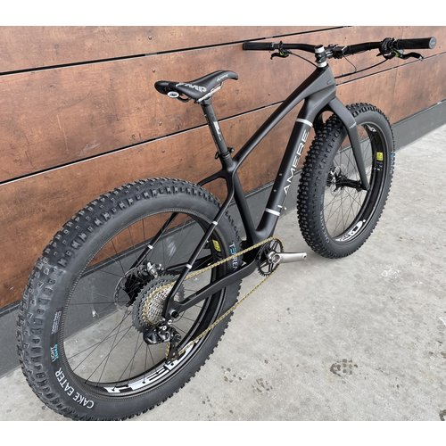 LaMere Cycles Ultimate Race Build Fat Bike w/ XT Di2, Ti eeWings cranks, Sz Medium 17.5""