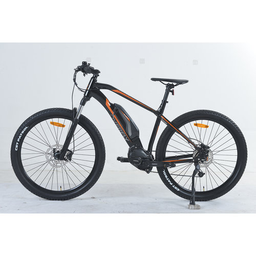"""Overfly Overfly XY-Light eMTB with E8000 Motor, Size 19"""""""