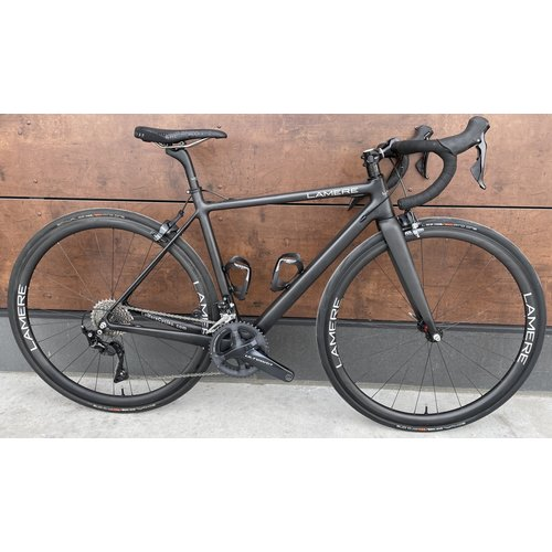 LaMere Cycles LaMere Cycles 50cm Carbon Road Bike, carbon wheels and rim brakes,  Ultegra/105 grouppo