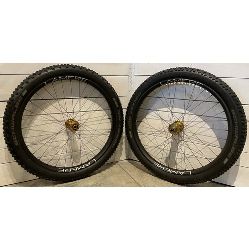 """LaMere Cycles Carbon Fat Summer Wheelset, 27.5"""", Onyx Hubs"""