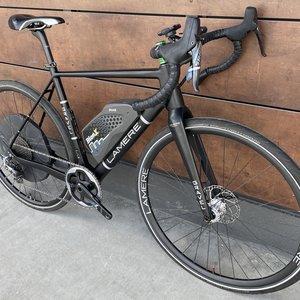 LaMere Cycles Carbon Gravel E-Bike, Sz 54cm