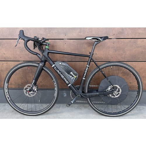 LaMere Cycles 54cm BionX-Powered Amazing Carbon Gravel E-Bike