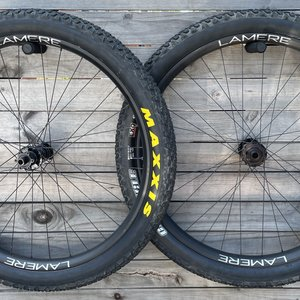 LaMere Cycles Fat Summer Wheelset, 29er tires