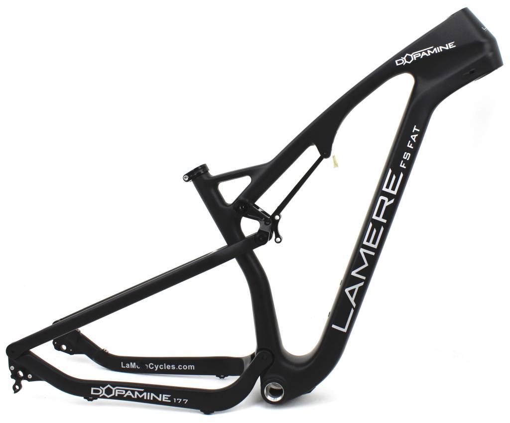 LaMere Dopamine Full Suspension Carbon Fat Bike Frame