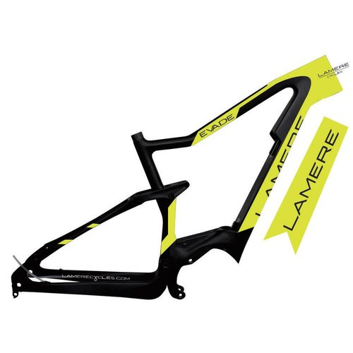 "LaMere Cycles Carbon eBike Frame 3.5"" XC Travel"