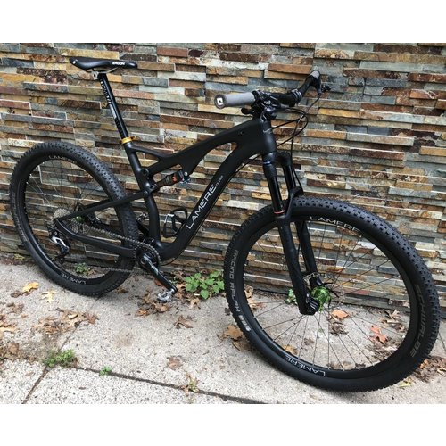 "LaMere Cycles 19"" 29er Full Suspension Carbon Wheels"