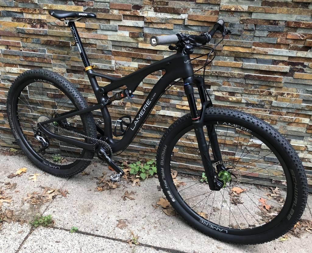 LaMere Super deal on carbon frame carbon wheel bike