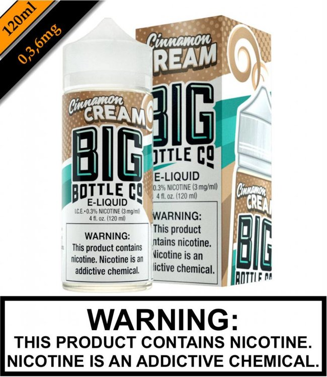 Big Bottle Company - Cinnamon Cream