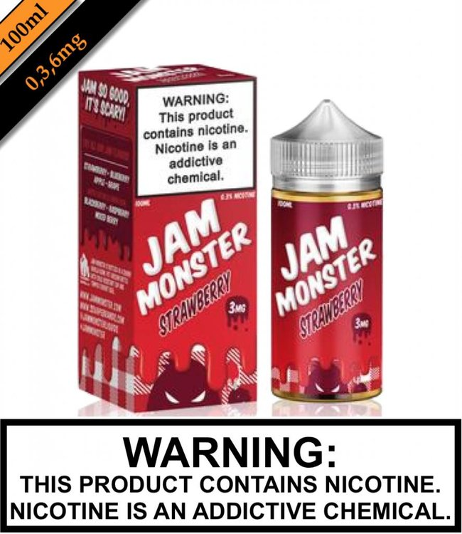 Jam Monster Jam Monster - Strawberry (100ML)