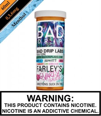 Bad Drip Labs Bad Drip Labs - Farley's Gnarly Sauce Iced Out