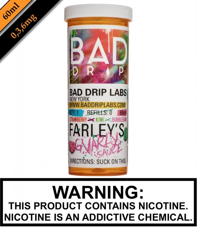 Bad Drip Labs Bad Drip Labs - Farley's Gnarly Sauce (60ML)