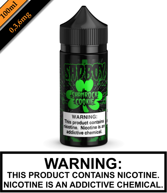Sadboy Sadboy - Shamrock Cookie 100ML