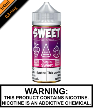 Sweet Collection by Vape 100 Sweet Collection - Purple Sweet 100ML
