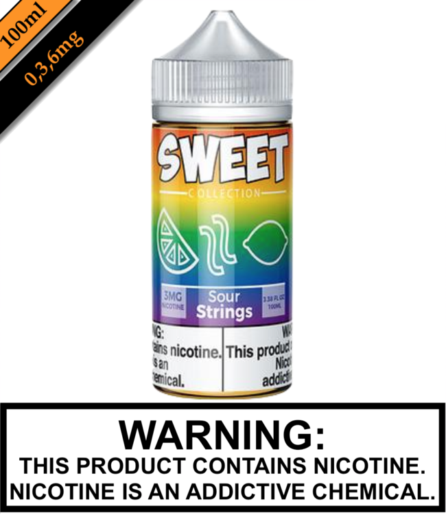 Sweet Collection by Vape 100 Sweet Collection - Sour Strings