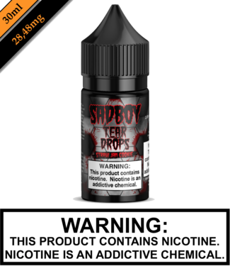 Sadboy Teardrops Salt Sadboy Teardrops Salt - Strawberry Jam Cookie (30ML)