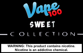 Sweet Collection by Vape 100