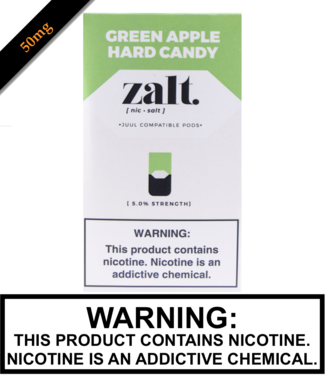 Zalt Zalt - Green Apple Hard Candy Replacement Pods