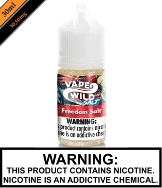Vape Wild Nic Salts Vape Wild Nic Salts - Freedom Salt