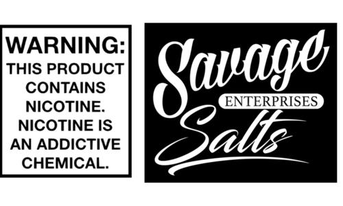 Savage Nic Salt Series