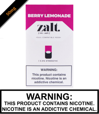 Zalt Zalt - Berry Lemonade Replacement Pods