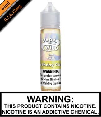 Vape Wild Steeped & Ready Vape Wild - Birthday Cake