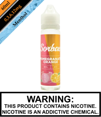 Sorbae Sorbae - Pomegranate Orange 60ML