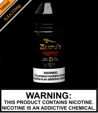 Zuro's Zuro's 100ML Bottles - Classified