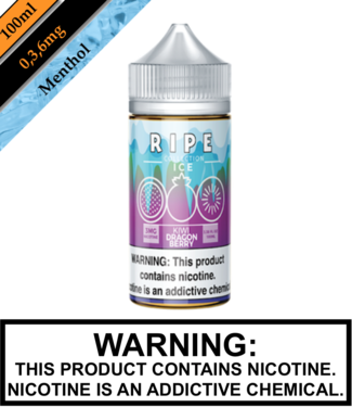 Ripe Collection Ice by Vape 100 Ripe Collection Ice - Kiwi Dragon Berry
